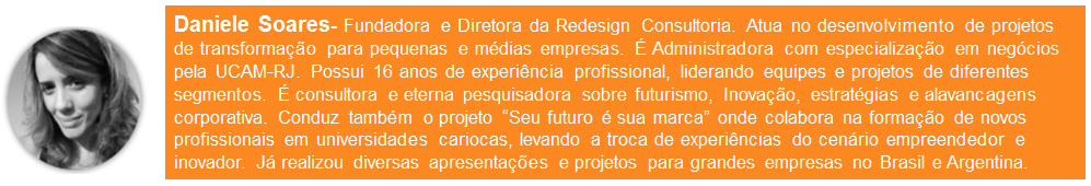 Resumo profissional de Daniele Soares