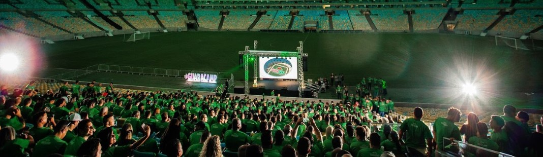 Evento Guaracamp no Maracanã